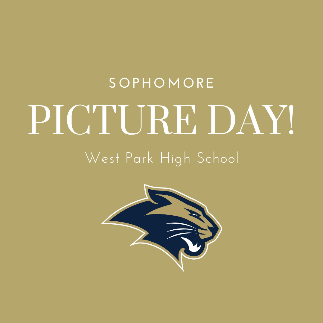 Sophomore Picture Day!